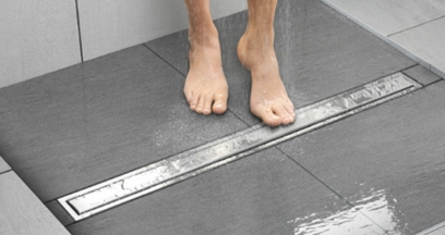 SS TILE SHOWER DRAINERS