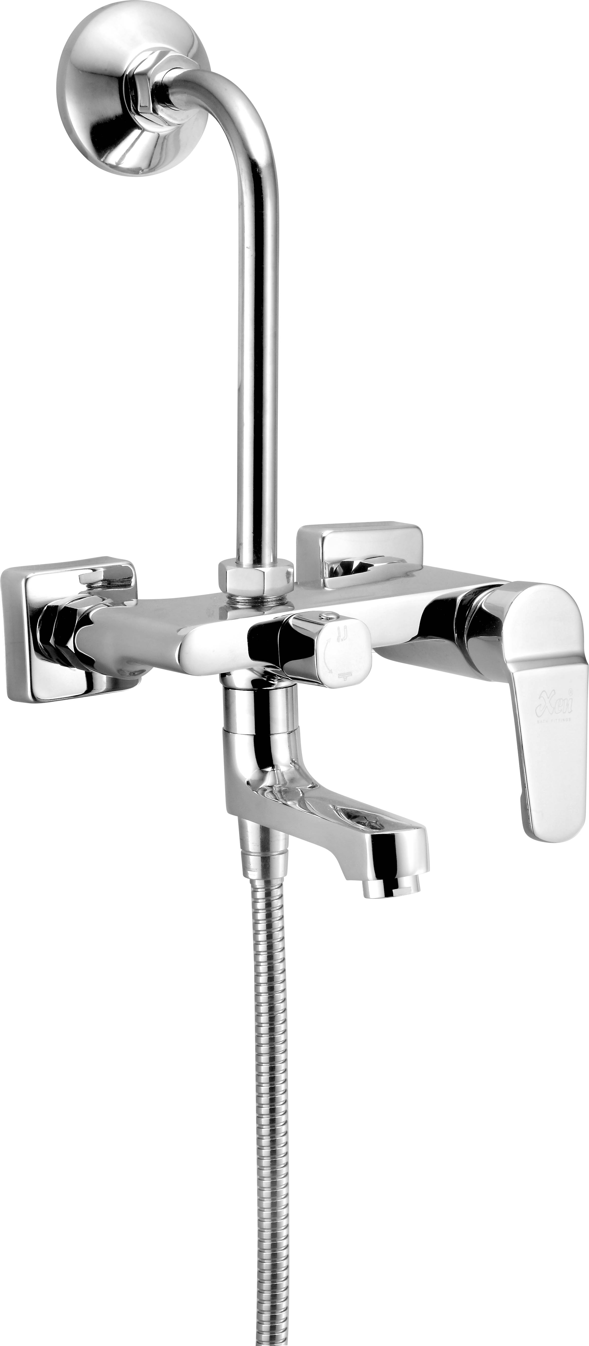 3 In 1 Wall Mixer Single Lever With Bend - Sporty