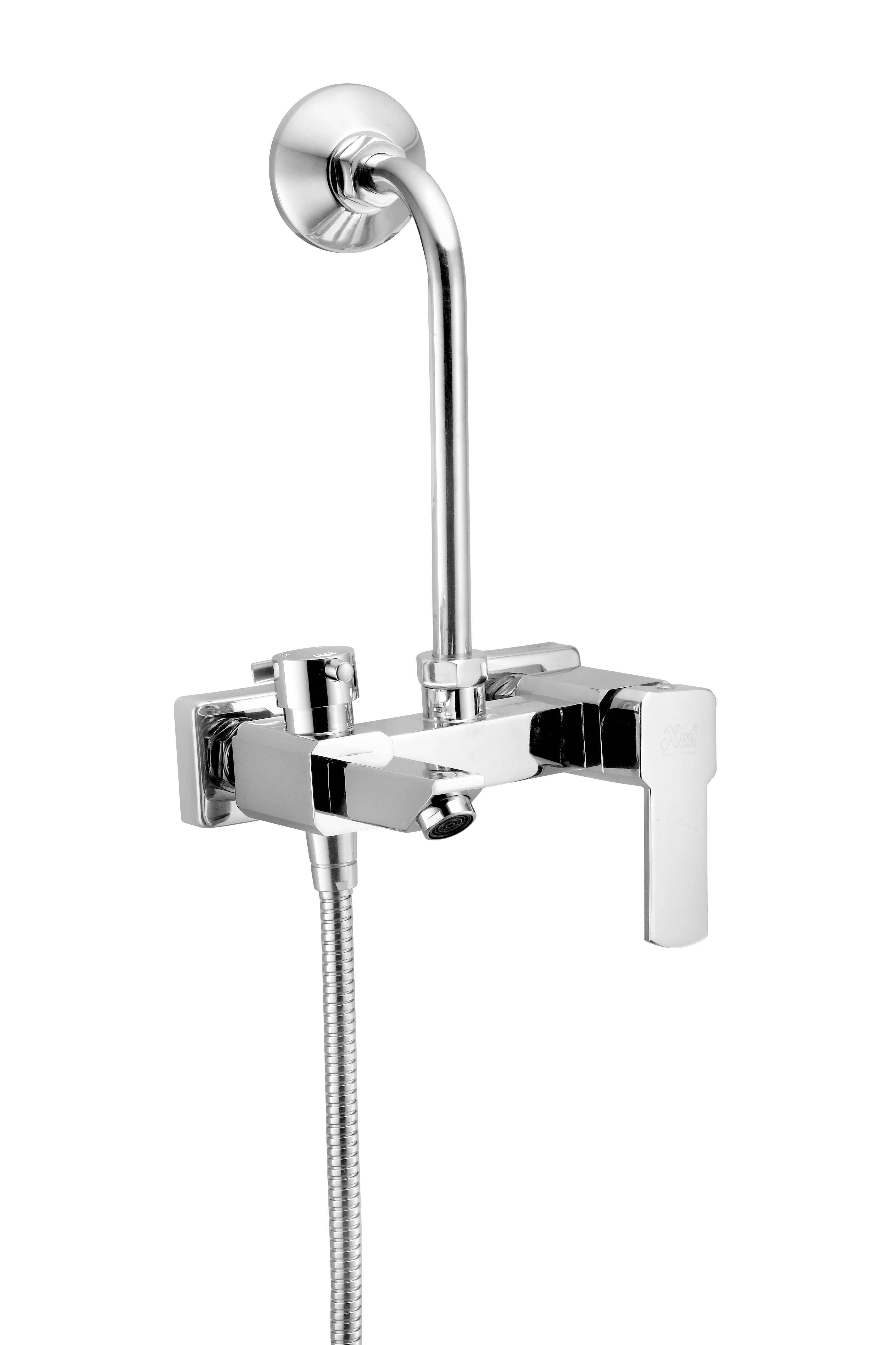 3 In 1 Wall Mixer Single Lever With Bend - Bravo