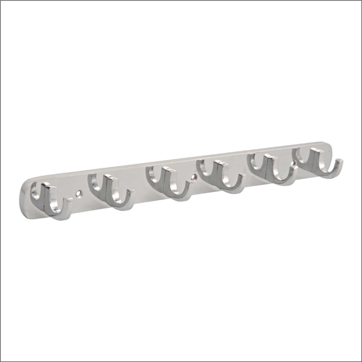 Coat Hook Plaza 6 Point CP