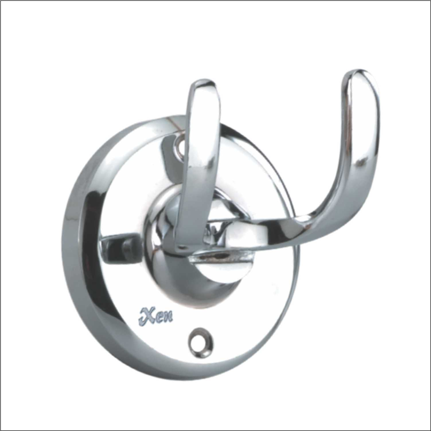 Coat Hook Twin Heavy