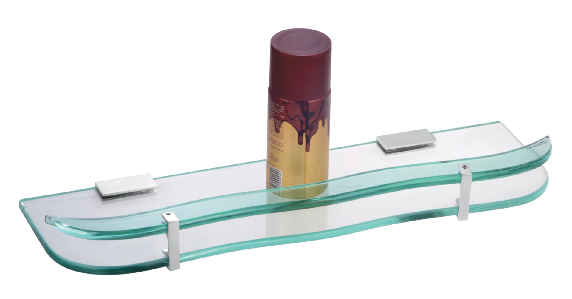 Glass Shelf Front Waver With 8mm Glass