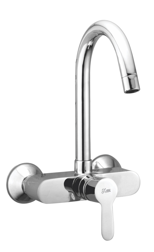 Sink Mixer Single Lever Wall Mounted