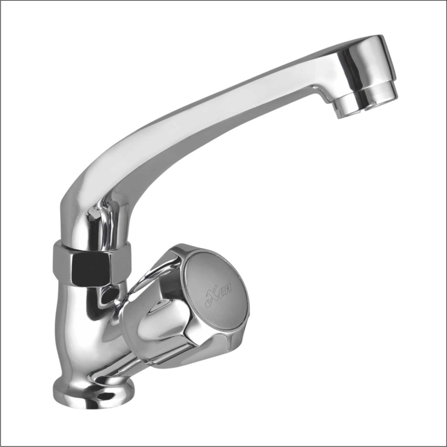 Swan Neck With Swivel Spout