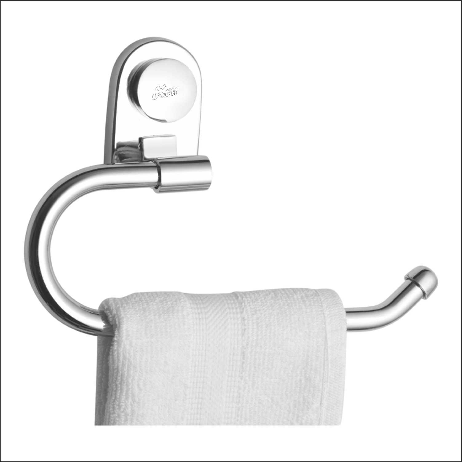 Towel Ring Budget Half Round