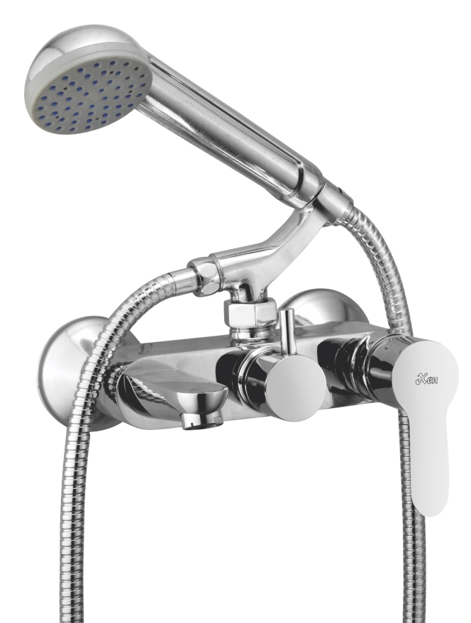 Wall Mixer Telephonic Single Lever With Crutch